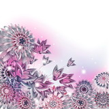 abstract creative spring or summer background