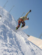 extreme snowboarding.