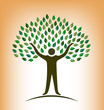 People Tree vector logo