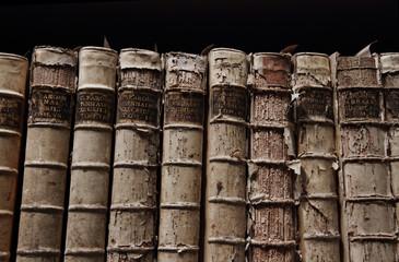 Libri antichi sala settecentesca