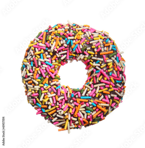 Fotobehang Bakkerij Donut