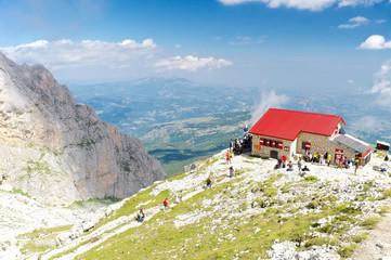 Franchetti refuge, Abruzzo Italy
