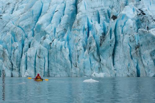 Shoup Glaier kayaking, Valdez, Alaska - 61460659