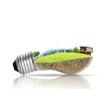 light bulb Alternative energy concept