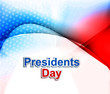 President Day in United States of America colorful wave vector i