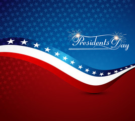 Beautiful President Day in United States of America with stylish