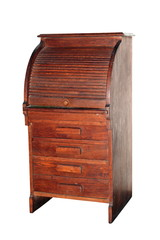 ancient isolated cabinet