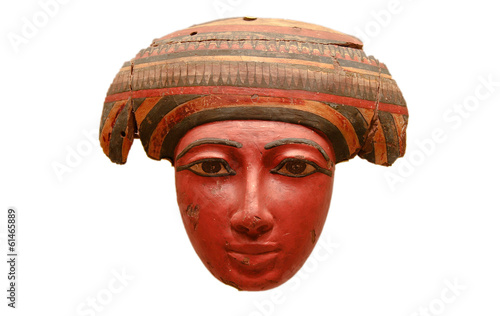Egyptian mask of Coffin