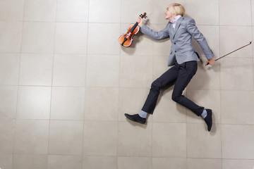 Man with violin