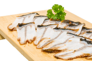 Sliced eel