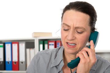 Ein unangenehmer Anruf