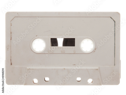 old, dirty, retro music audio tape