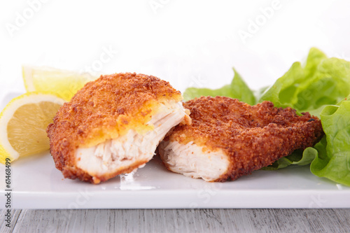 chicken breaded