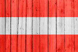 The Austrian flag