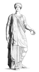 Ancient Rome : Patrician Woman