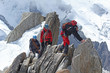 Leinwandbild Motiv Alpinisme-4521