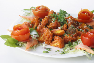 Mix Vegetable Pakora is a popular Indian snack