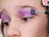 Young girl makeup