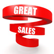 Great sales red helix banner