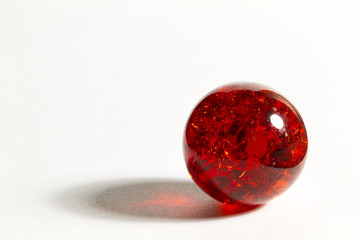 Red Crackle Marble