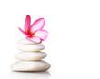 spa concept massage stones