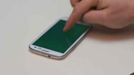 Smartphone sideway zoom