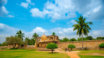 view of the ancient Gangaikonda Cholapuram Temple dedicated to S