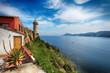 Leinwandbild Motiv Leuchtturm Portoferraio Insel Elba Italien