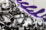 Murales skulls
