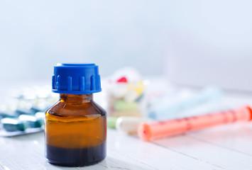 medidine bottle