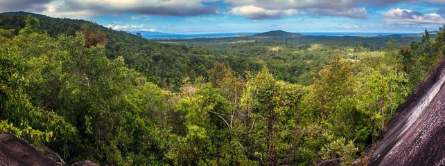 Aerial view on Koh Phangan island, Thailand
