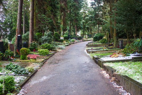 Poppelsdrof cemetery in Bonn, Germany