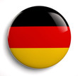 canvas print picture - Germany flag