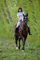 Spring equestrian adventure