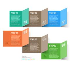 Paper design elements