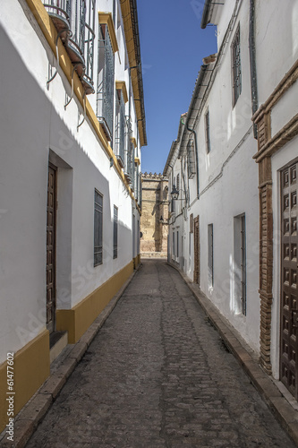 Street Jewish quarter in Cordoba - Spain