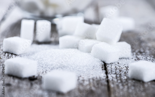 Sugar (close-up shot)