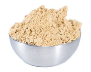 Isolated Ginger Powder