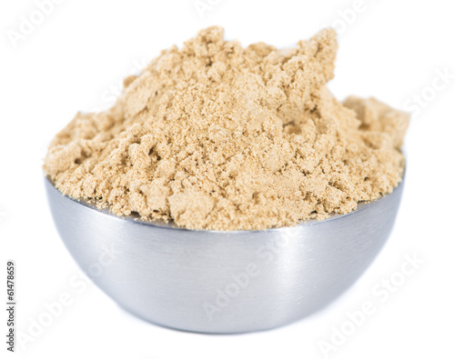 Isolated Ginger Powder