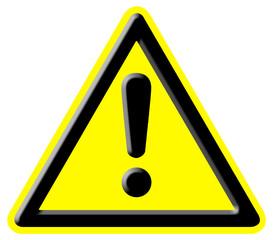 Danger warning signal
