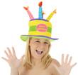 Frau mit Hut zum Geburtstag
