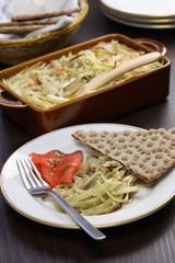 Janssons frestelse, Swedish potato gratin with sprat fillets