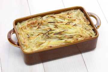 Janssons frestelse, Swedish potato gratin with sprat fillets