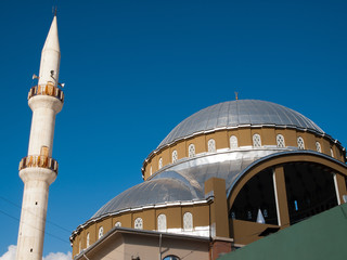 Minaret and cupola of Mosque in Tarsus ,Turkey