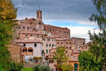 Montepulciano medieval village, Tuscany, Italy