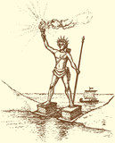 "Series ""Seven Wonders of the Ancient World"". Colossus of Rhodes"