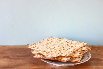 passover background. matzoh (jewish passover bread)