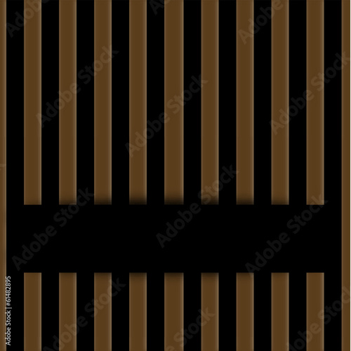 Wooden fence background with space for text