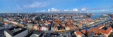 Large panorama of Copenhagen, Denmark