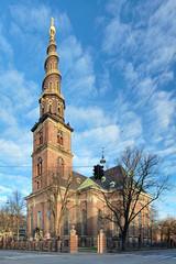 Church of Our Saviour in Copenhagen, Denmark